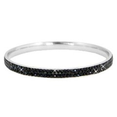 Stainless steel zilver zwart