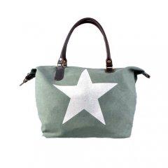 Tas met ster groen