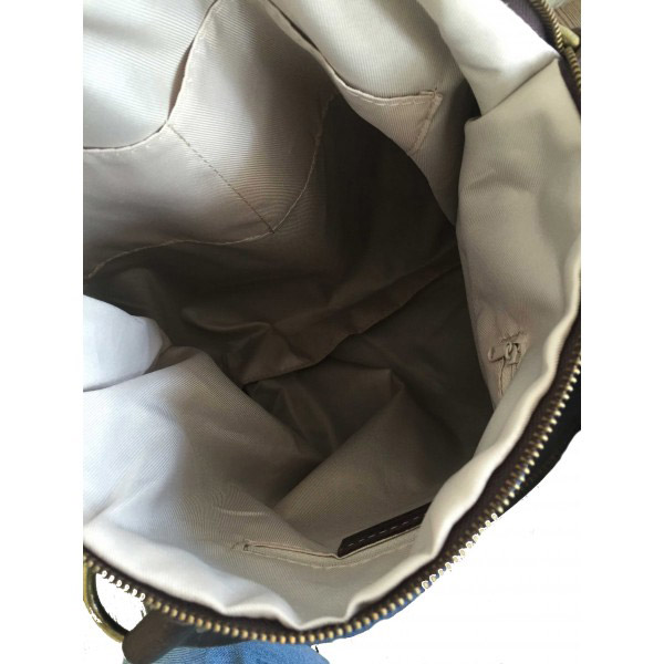 Tas met ster jeansblue binnenkant