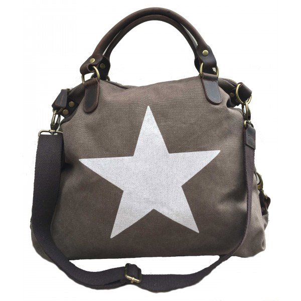 Tas ster taupe