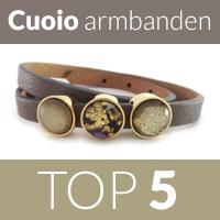 Top 5 meest verkochte Cuoio armbanden in 2014